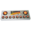 Rear Center Light Panel with Backing Plate, 4