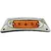 Chrome Aluminum Front Fender Bracket with Light