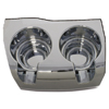 Chrome Plastic Cup Holders
