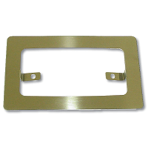 Stainless Steel Rim for Sunvisor Rectangular Cab Light