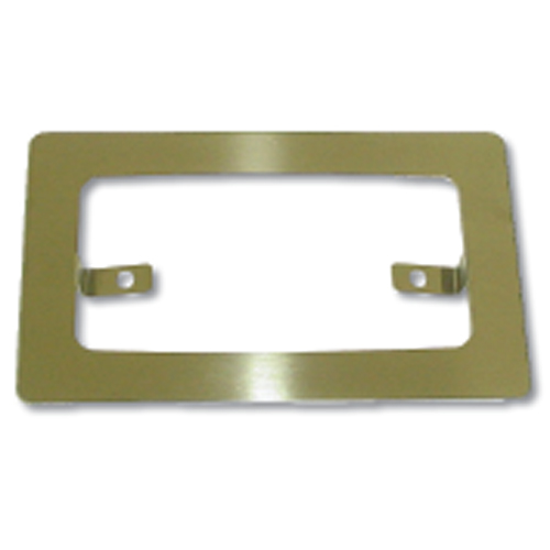 Stainless Steel Rim for Rectangular Exterior Cab Light