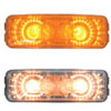 Rectangular 2 Bulbs Spyder Sealed Lights