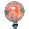 "3"" Clear Lens Auxiliary Marker Lights with Color Bulb"