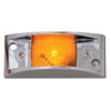 Marker Lights with Chrome Guard