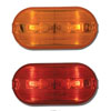 Oblong Two-Bulb Marker Lights