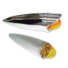 Chrome Die Cast Cab Marker Lights With Chrome Plastic Bezels