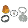 Large Glass Flush Mount Marker Light Kits