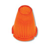 Amber Plastic Lens Only For Torpedo Marker Light