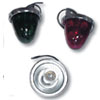 Beehive Glass Marker Lights