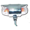 Double Face Chrome Die Cast Auxiliary Clear Glass Projected Lights