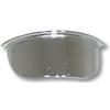 Chrome Steel Mini Visor